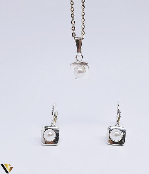 Set argint 925 format din cercei si pandantiv ,2.76 grame (BC R) 0