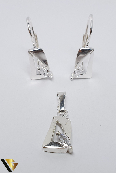 Set Argint 925, format din cercei si pandantiv, 3.26 grame (BC R) 0