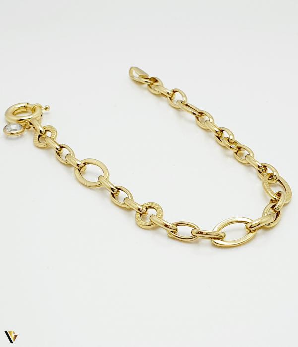 Bratara din aur 14k, 4.59 grame (BC M) [0]