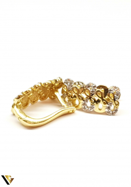 Cercei aur 14K ,3.64 grame 0