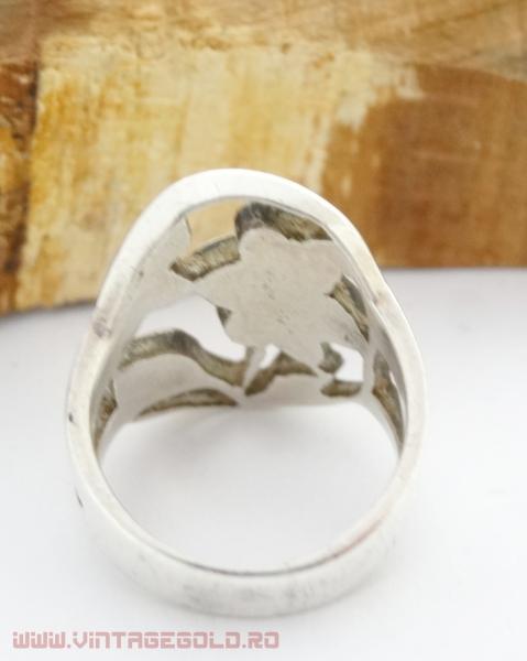 Inel argint 925, sidef, 6.16 grame 2
