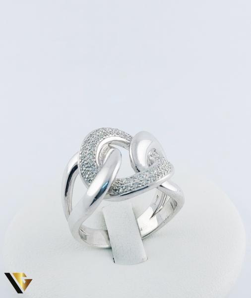 Inel Aur 14k, Diamante de cca. 0.40 ct in total, 16.95 grame, 250 Lei/gr 0