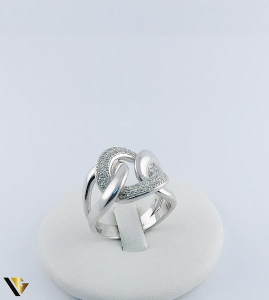 Inel Aur 14k, Diamante de cca. 0.40 ct in total, 16.95 grame, 250 Lei/gr 6