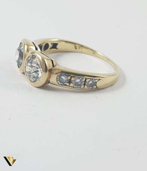 Inel Aur 14k, Diamante de cca 1.60 ct in total, 3.25 grame 3