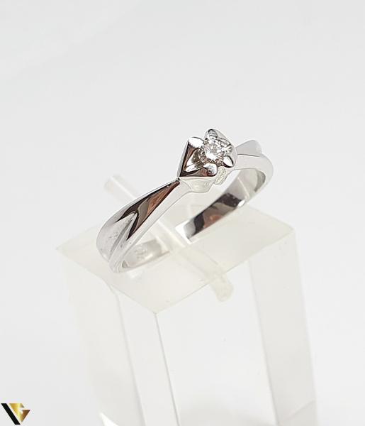 Inel Aur 18k, Diamante, 3.88 grame 0