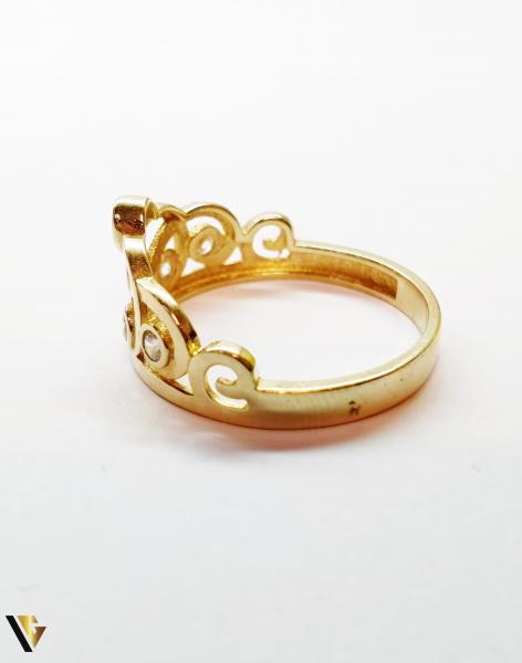 Inel din aur 14k,2.56 grame (BC M) 1
