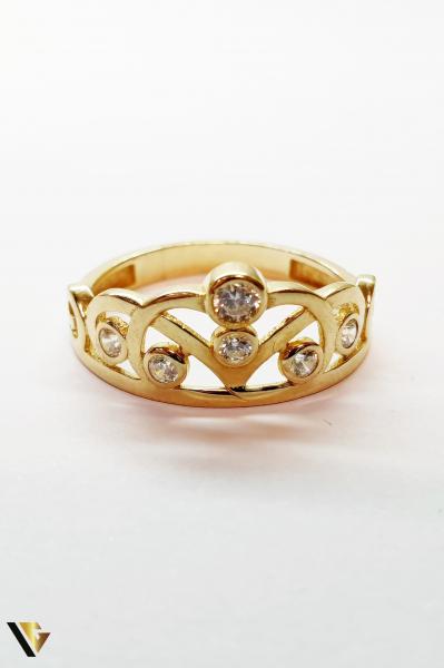 Inel din aur 14k,2.56 grame (BC M) 2