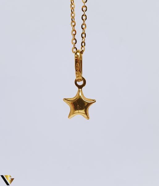 Pandantiv Aur 18K, Stea, 0.49 grame (BC R) 0