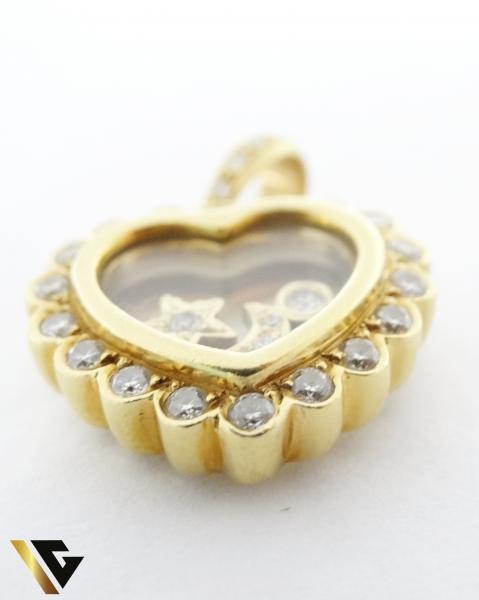 Pandant cu diamante de cca. 0.65 ct, din aur 18k, 9.26 grame 1
