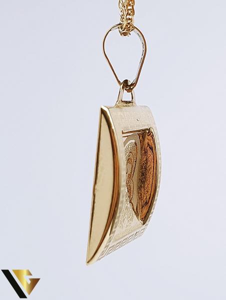 Pandantiv Aur 14K, 0.91 grame 1