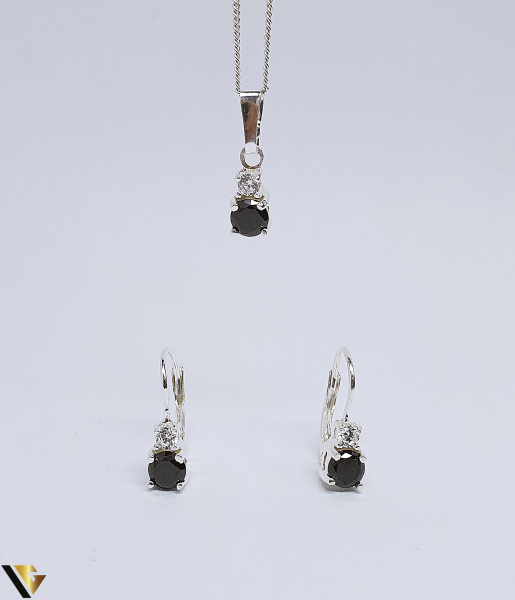 Set argint 925 format din cercei si pandantiv ,3.17 grame (BC R) 0
