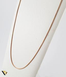 Lant Argint 925, Placat Aur, 3.52 grame0