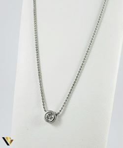 Colier Aur 18k, Diamant cca. 0.50 ct, 5.24 grame0