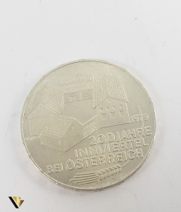 100 Schlling , Austria 1979, Argint 640, 24.08 grame1
