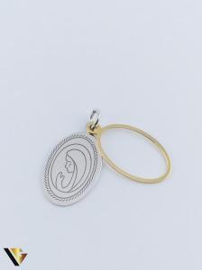Pandantiv Argint 925, Ave Maria, 1.04 grame (R)1