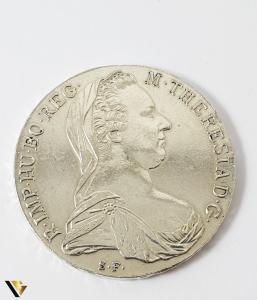 1 Thaler, Maria Theresia, Argint 833, 27.87 grame0