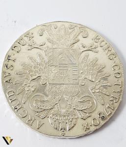 1 Thaler, Maria Theresia, Argint 833, 27.87 grame1