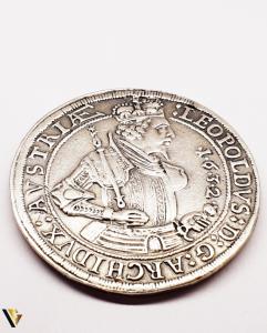 1 Thaler 1632 - Leopold Hall , Argint  , 22.21 grame0