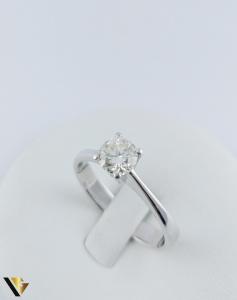 Inel logodna Aur 18k, Diamant cca. 0.70 ct, 4.04 grame0