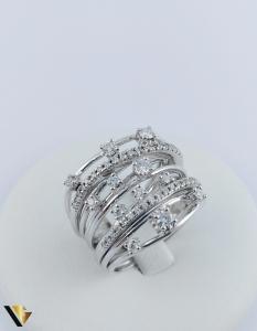 Inel Aur 18k, Diamante cca. 0.45 ct in total, 10.80 grame0