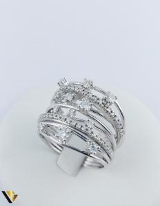 Inel Aur 18k, Diamante cca. 0.45 ct in total, 10.80 grame1