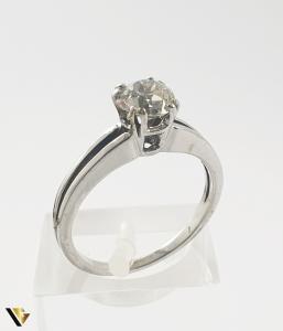 Inel Aur 18k, Diamant de cca 0.65 ct, 2.74 grame0