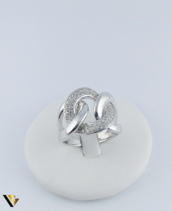 Inel Aur 14k, Diamante de cca. 0.40 ct in total, 16.95 grame, 250 Lei/gr1