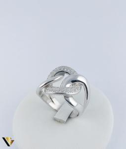 Inel Aur 14k, Diamante de cca. 0.40 ct in total, 16.95 grame, 250 Lei/gr2