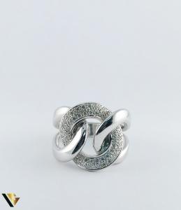 Inel Aur 14k, Diamante de cca. 0.40 ct in total, 16.95 grame, 250 Lei/gr3