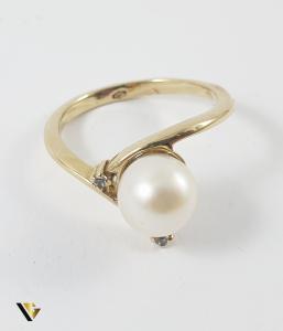 Inel Aur 14k, Perla, 2.92 grame (P)1