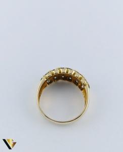 Inel Aur 18k, Diamante de cca. 0.36 ct in total, 5.05 grame3