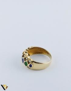 Inel Aur 18k, Diamante de cca. 0.36 ct in total, 5.05 grame4
