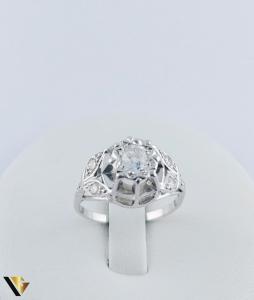 Inel Aur 10k, Diamant de cca. 0.30 ct, 3.86 grame1