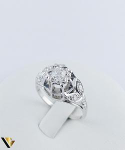 Inel Aur 10k, Diamant de cca. 0.30 ct, 3.86 grame2