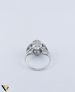 Inel Aur 10k, Diamant de cca. 0.30 ct, 3.86 grame3
