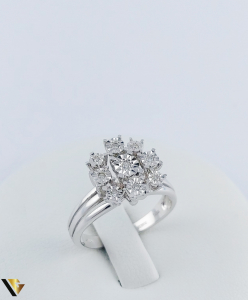 Inel Aur 18k, Diamante, 4.14 grame (TG)0