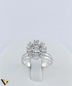 Inel Aur 18k, Diamante, 4.14 grame (TG)1