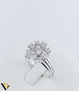 Inel Aur 18k, Diamante, 4.14 grame (TG)2