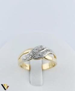 Inel Aur 18k, Diamante de cca. 0.15 ct in total, 3.64 grame1
