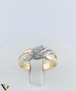 Inel Aur 18k, Diamante de cca. 0.15 ct in total, 3.64 grame (TG)1
