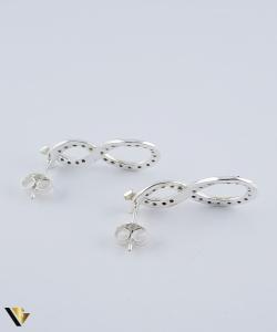 Set argint 925 format din cercei si pandantiv,  Simbolul Infinitului, 5.36 grame (R)2