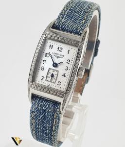 Longines Belle Arti Collection, Diamante de 0.19 ct in total0