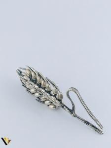 Miniatura din Argint 800, Spic de grau,  9.88 grame0