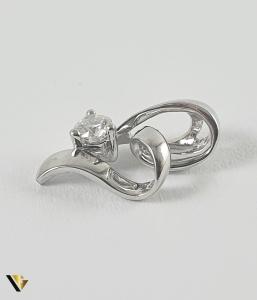 Pandant Aur 18k, Diamant de cca. 0.09 ct, 0.84 grame1