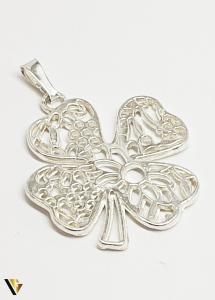 "Pandantiv Argint 925 , ""Trifoi"" , 4.85 grame [1]"