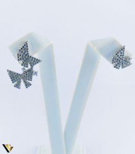 Cercei argint 925, Fluturi, 2.40 grame (R)2