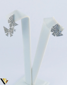 Cercei argint 925, Fluturi, 2.40 grame (R)3
