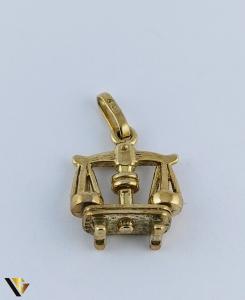 Pandantiv Aur 8k, Balanta, 1.44 grame (R)1