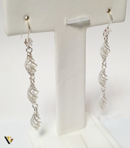 Cercei din argint , 4.86 grame (BC M)0