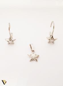Set Argint Cercei si Pandantiv , 2.53 grame (BC M)0